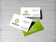Solar Logo Kartvizit Tasarımı