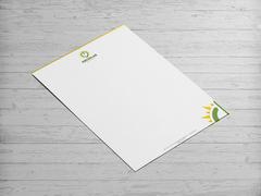 Solar Logo Antentli K. Tasarımı