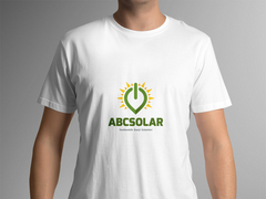 Solar Logo T-shirt Tasarımı
