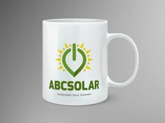 Solar Logo Mug Tasarımı