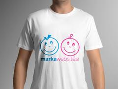Gülen yüzler Logo T-shirt Tasarımı