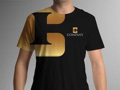 C Logo T-shirt Tasarımı