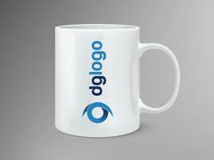 DG Logo Mug Tasarımı