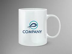 Balık Logo Mug Tasarımı
