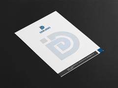 D Logo Antentli K. Tasarımı
