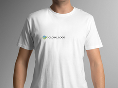 Global Logo T-shirt Tasarımı