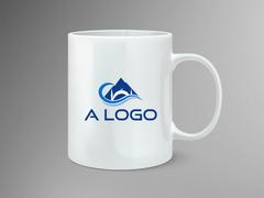 Dağ Logo Mug Tasarımı