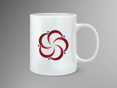 Kırmızı Logo Mug Tasarımı