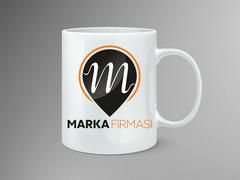 M Logo Mug Tasarımı