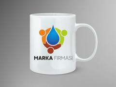 Damla Logo Mug Tasarımı