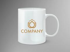 Stilize Logo Mug Tasarımı
