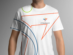İnsan Logo T-shirt Tasarımı