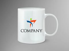 İnsan Logo Mug Tasarımı
