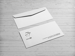 Bina Logo Zarf Tasarımı