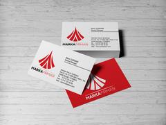 A Harfi Logo Tasarımı Kartvizit Tasarımı