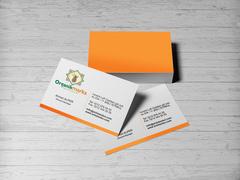 organik marka Kartvizit Tasarımı