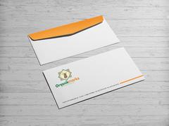 organik marka Zarf Tasarımı