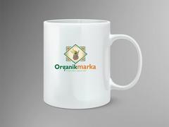 organik marka Mug Tasarımı