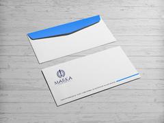 Kalem Logo Zarf Tasarımı