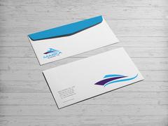 Deniz Logo Zarf Tasarımı