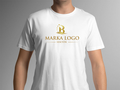 B Logo T-shirt Tasarımı