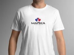 Yaprak logo T-shirt Tasarımı