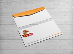 Döner Logo Zarf Tasarımı