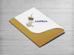 Robot Logo Dosya Tasarımı