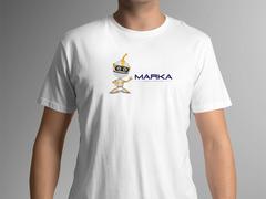 Robot Logo T-shirt Tasarımı