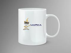 Robot Logo Mug Tasarımı