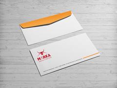 Boynuzlu Logo Zarf Tasarımı