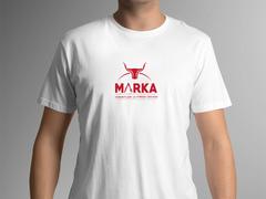 Boynuzlu Logo T-shirt Tasarımı