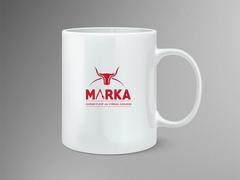 Boynuzlu Logo Mug Tasarımı