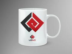 LG Logo Mug Tasarımı