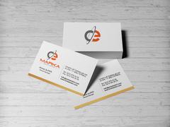 C ve E Logo Kartvizit Tasarımı