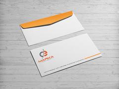 C ve E Logo Zarf Tasarımı