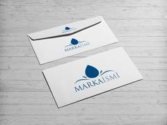 Damla Logo  Zarf Tasarımı