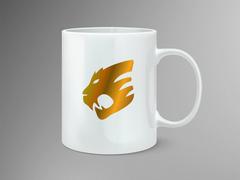 Kaplan Logo Mug Tasarımı