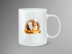 Döner Logo Mug Tasarımı
