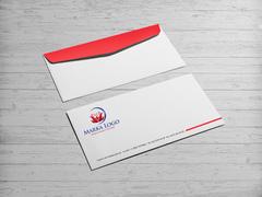 Boğaz Logo Zarf Tasarımı