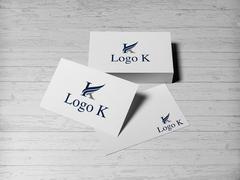 K Logo Kartvizit Tasarımı