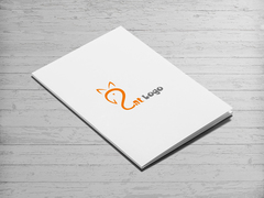 Kedi Logo Dosya Tasarımı