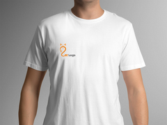 Kedi Logo T-shirt Tasarımı