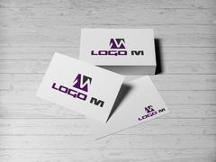 M Logo Kartvizit Tasarımı