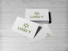 Ağaç Logo Kartvizit Tasarımı