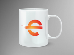 E-ticaret Logo Mug Tasarımı