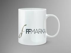 F Logo Mug Tasarımı