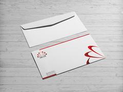 Egitim Logo Zarf Tasarımı