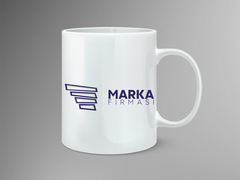 Kanatlı Logo Mug Tasarımı