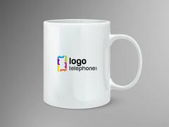 Logo Telefon Mug Tasarımı